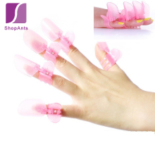 1 Sets New Arrival  Nail Polish Protectors Cover Clips Fingernail Scratch Nail Tools Manicure Nail Polish  Protection Clip