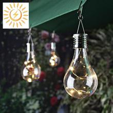 5 LED Solar Rotatable Waterproof Solar Hanging Light Lamp Indoor/Outdoor Commercial Garden Patio Camping Lamp Light