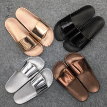 Buy Women Slides 2018 Fashion Slippers Platform Sandals Summer Bling Beach Slides Flip Flops Comfortable Flat Shoes Chaussure Femme for $10.23 in AliExpress store