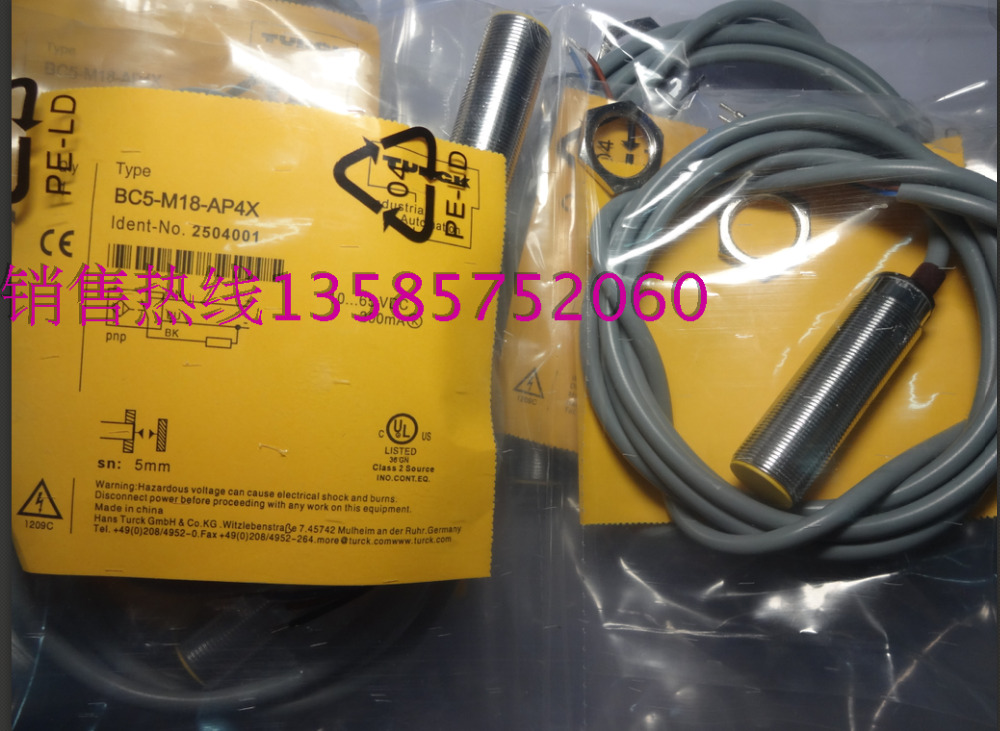 BC5-M18-AP4X BC5-M18-AN4X Turck New High-Quality Proximity Switch Sensor Warranty For One Year<br><br>Aliexpress