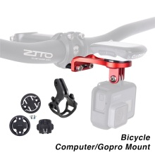 Buy Bike Bicycle Computer Stem Extension Mount Holder Gopro Camera Bracket Adapter GARMIN Edge GPS Computer Bryton CATEYE for $15.25 in AliExpress store