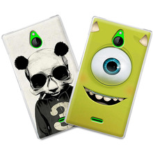 Grid Newest Cute Colorful Painting Hard Cover Case for nokia X2 dual sim back cover + Free pen gift