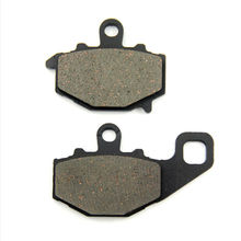 SOMMET Motorcycle Rear Brake Pads Disks 1 pair for Kawasaki ZZR 600 (93-07) (ZX 600 E1-E13) E6F ZZR600 ZX600 LT192