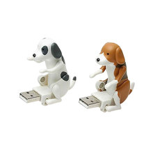 Hot Portable Mini Cute USB 2.0 Funny Humping Spot Dog Rascal Dog Toy Relieve Pressure for Office Worker Best gift For Festival(China)
