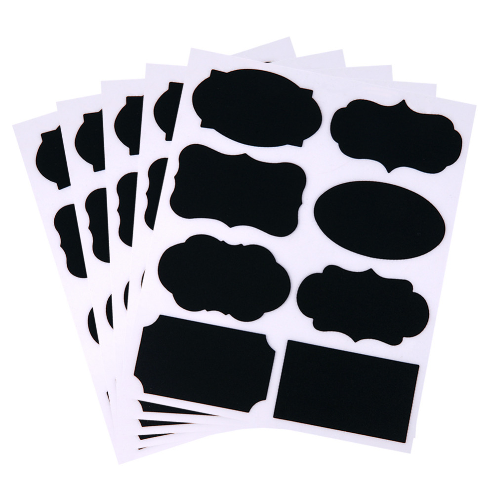 HTB1rzzRckfb uJkSmLyq6AxoXXa8 - 40 Pcs Mason Sugar Bowl Stickers Black Board DIY For Kitchen