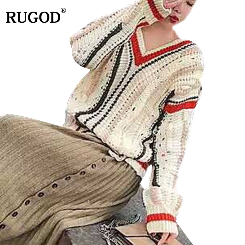 RUGOD Fashion Hot Sell Sweater Women Casual Long Sleeve Pullovers Women Korean Knitted Winter Clothes pull hiver femme 2018
