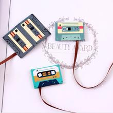2 pcs/Lot Forest animal magnet bookmark Cassette tapes Book mark Stationery Office School supplies marcador de libros(China)
