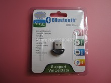 new 1pcs/lot Bluetooth USB 2.0 Dongle Adapter smallest bluetooth adapter V2.0 EDR USB Dongle 100m PC Laptop