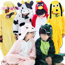 Tenma pig panda carton animal onesies Pajamas Children Anime Costume Unicorn frog kitty stitch tiger halloween jumpsuit pyjama(China)