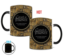 Drop shipping Game Of Thrones mugs Tribal totem mug color changing magic mugs cup Tea coffee mug cup best gift for your friends