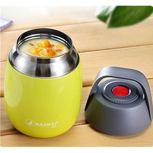 Braised egg noodles congee Insulated Food Container 450ml household Stainless Steel Braised beaker enjoy the cooking