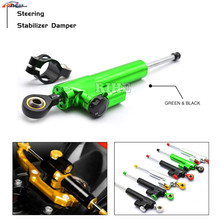 For Ducati monster 1100 620 696 796 streetfighter BMW Motorcycle CNC Damper Steering Stabilizer Linear Reversed Safety Control