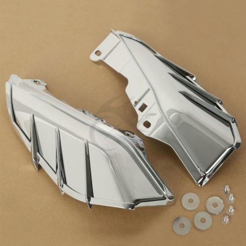 Chrome Mid-Frame Air Deflector For Harley Touring Electra Street Glide FLTR FLHX<br>