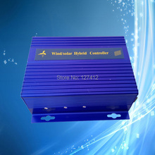 Max 900W PWM Wind Solar Hybrid Controller (Max 600W Wind, Max 300W Solar), 12V/24V Auto Distinguish, Auto Brake and Manual Brake