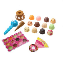 Simulation Food Kitchen Toy Ice Cream Stack Play Kids Pretend Play Toys Educational Toys Children Gifts
