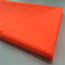 2017 Direct Selling Real Woven 100% Nylon Cheap Orange Color Coated Kite Fabric(China)