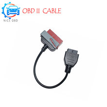 High Quality Lexia3 30 pin cable to OBD2 16 pin cable lexia3 PP2000 Interface with Old for Peugeot for Citroen Cars obd Lexia 3(China)