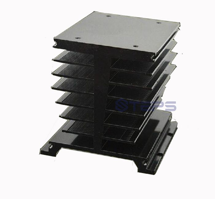 Guide mounting type three-phase solid state relay radiator 200A SCR module radiator 115*84*96<br>