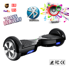 Black Hoover Board Bluetooth Electric Self Balancing Scooter Mini Drifting Hoverboard Walk Car Hover Bord Man Overboard Ox Board
