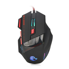 Best Price Professional 7 Buttons 3200DPI USB Optical Wired Gaming Mouse Mice For PC Laptop