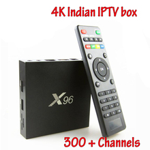 Free Indian Iptv Box S905X Quad Core Android Live TV Box BT 4.0 4K HD Internet 2GB 16GB Streaming Media Player(China)