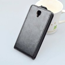 J&R Leather Cases for Alcatel One Touch Idol 2 OT 6037K 6037B 6037Y 6037,Vertical Flip Cover Magnetic Moblie Phone Bags SJ1440