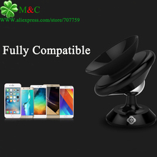 2017 New 360 Degree Universal Mobile Vehicle Mounts Silicone Sucker Car Phone Holder Stand Fully Compatible Free Tracking