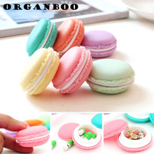 5pcs/set Mini candy color portable storage box plastic box container jewelry box debris kit office drawer organizer accessories