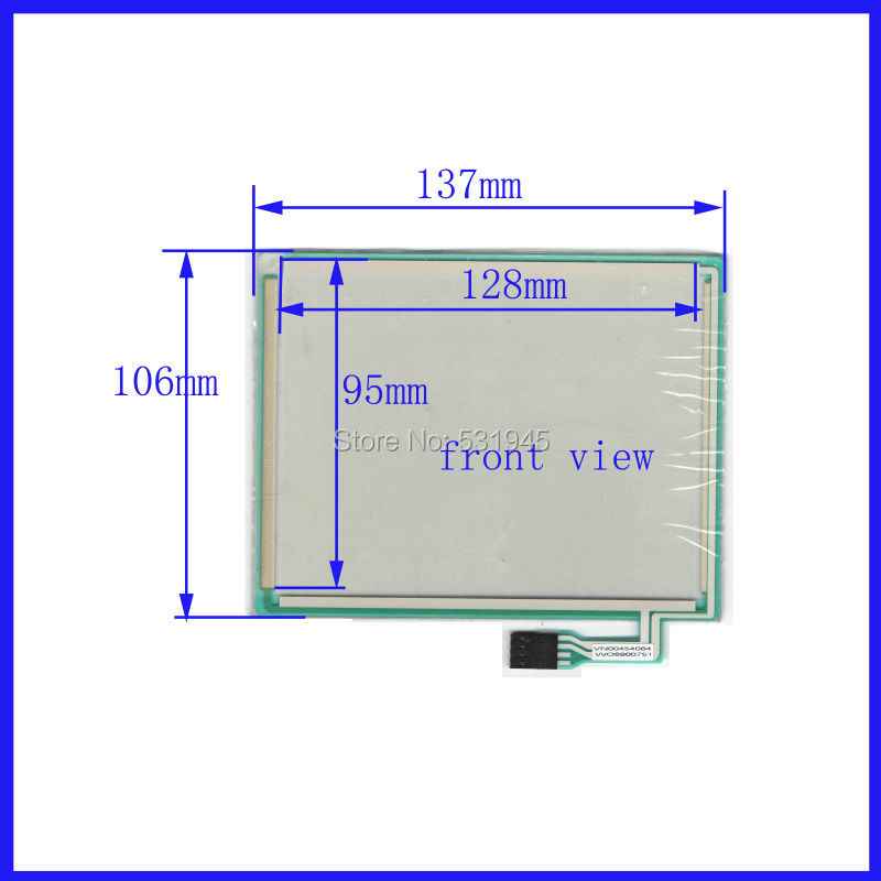 ZhiYuSun 137mm*106mm 137*106 6 -inch resistive touchscreen display on the outside commercial use TP060F01 VN00454084  VV08900751<br>