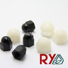 M3 M4 M5 M6 M8 M10 M12  Nylon Hexagon domed cap nuts Acorn Nuts Dome Head hex Nuts Decorate nuts  Nylon DIN1587