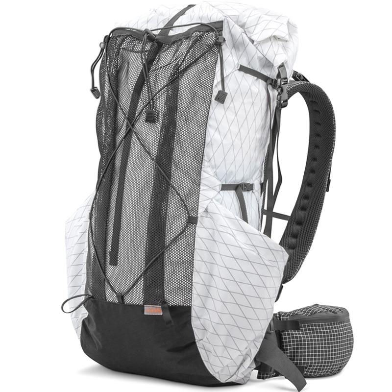 35L-45L Lightweight Durable Travel Camping Hiking Backpack Outdoor Ultralight Frameless Packs XPAC & Dyneema 3F UL GEAR