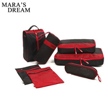 Mara's Dream Best Seller Lightweight Travel Packing Cubes 7pcs Travel Bag Suitcase Compression Cubes for Luggage Organizer(China)