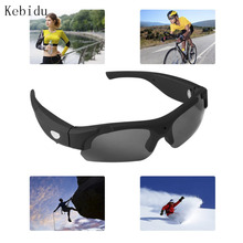 Kebidu Fashion Riding Sport Dust-proof Sunglasses 1080P HD Polarized-lenses Camera Video Recorder Camcorder Eyewear Gift for Men(China)