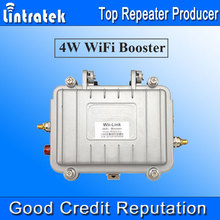 Lintratek WiFi Signal Boosters 4W 2.4GHz Repetidor Wifi Boost OUTDOOR Waterproof 36dBm (4 Watts) Wifi Amplifier Full Kit 2017 /