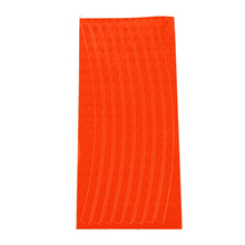 New Arrival Wheel Reflective Car Motorcycle Rim Sticker WHEEL Stripe Decal sticker waterproof orange red(China)