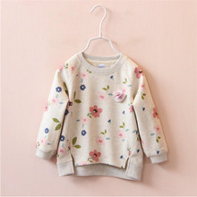 Brand 2017 New Kids Girls T shirt Child Clothing Childrens Tops Spring Clothes long Sleeve Tee shirts