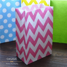 New craft Stand up Colorful Polka Dots Paper Bags  22x13x8cm Favor Bag Open Top Gift Packing Bags  Treat Bag 2500pcs wholesale