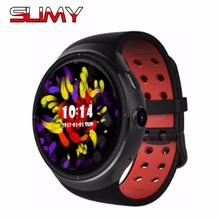 Slimy New Smart Watch Android 1.39'' 3G Calling 2.0MP Camera Wifi Pedometer Heart Rate Moniter PK X5 X02 K18 Z10 KW88 Smartwatch