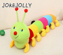 1Pcs 50cm Baby Toys Colorful Caterpillars Millennium Bug Doll Plush Toys Large  Pillow Doll toys WYQ