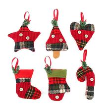 6pcs Christmas Tree Decorations Hanging Pendant Ornament for Christmas Decor(China)