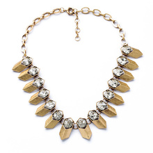 Alloy Charm Simulated Pearl Crystal Necklace Online Shopping India Fashion Ribbon Lace-up Chunky Vintage Necklace Jewelry(China)