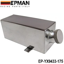 EPMAN Universal 1.75 Litre ALLOY WATER TANK / Intercooler Spray Water Bottle- washer / water injection EP-YX9433-175