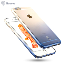 Baseus Gradient Case For iPhone 6 6S Ultra Thin Hard Back Case For iPhone 6 6S Plus Luxury Cover For iPhone 6Plus Coque Shell