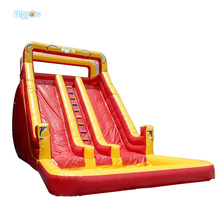 Inflatable Biggor Inflatable Water Slides For Sale Funny Kid Outside Gonflatable Slides Red And Yellow Color(China)