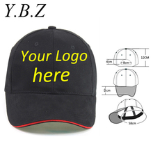 Long Keeper Flat Brim Cap Blank Baseball Hats Customized Net Caps Hip Hop LOGO Pprinting Adult Hats Casual Peaked Hat 10pcs/lot
