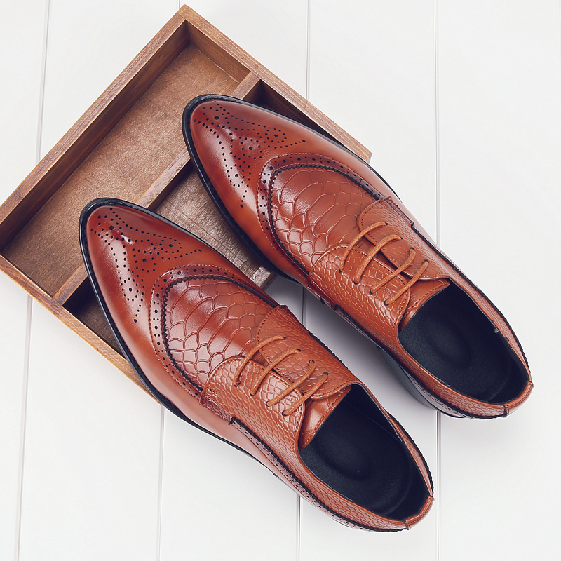 european men dress shoes 2017 brogue oxford  italian leather man shoes luxury brand formal footwear male office shoes for men (13)