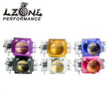 LZONE RACING- NEW 65MM THROTTLE BODY PERFORMANCE INTAKE MANIFOLD BILLET ALUMINUM HIGH FLOW JR6965