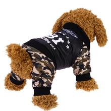 Pet Dog Clothes Costume Fashion Bright Camouflage Dog Clothes Winter Warm Waterproof FBI Printing Coat Jacket Dog Clothing(China)