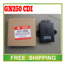 motorcycle GN250 TU GN 250 Digital Ignition Control Module CDI Box UNIT 6pin plug  250cc accessories free shipping