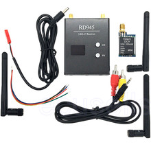 5.8G 200mW 32 CH Transmitter TS5823+48CH RD945 Wireless Dual Receiver for FPV Multicopter Car Video Backview Aerial System